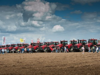 Quadtrac World record Caenby July 2012.