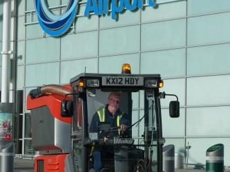 Mitie at Birmingham Airport.
