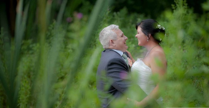 Wedding of Ginny and Andy July 2014 .