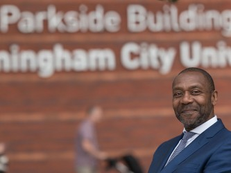 Lenny HEnry appointed as new chancellor of Birmingham City University.